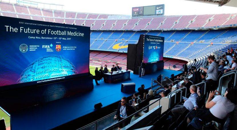 congreso en camp Nou, Barcelona.